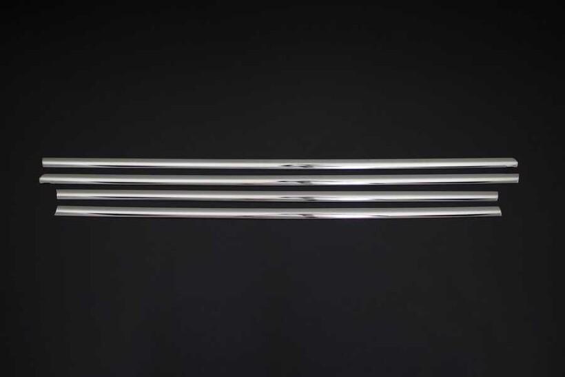 Krom Aksesuar » Omsa - VW Golf 7 Krom Cam Çıtası 4 Parça 2013 ve Sonrası