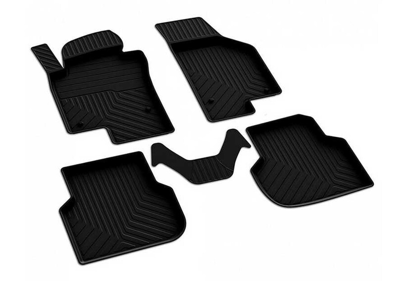 4D Paspas - VW Jetta 4D Havuzlu Paspas Siyah 2011 ve Sonrası