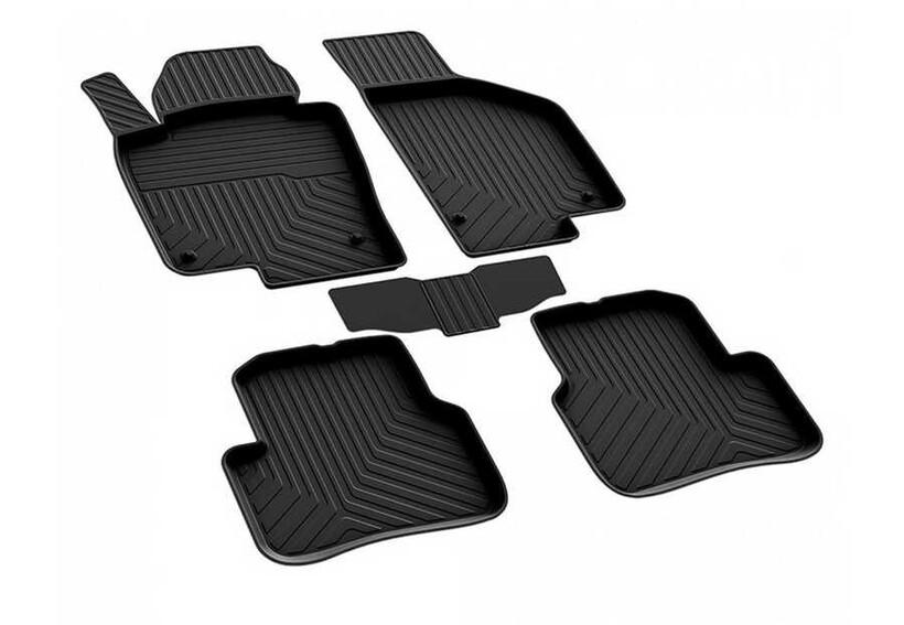 4D Paspas - VW Passat B7 4D Havuzlu Paspas Siyah 2011-2015 Arası