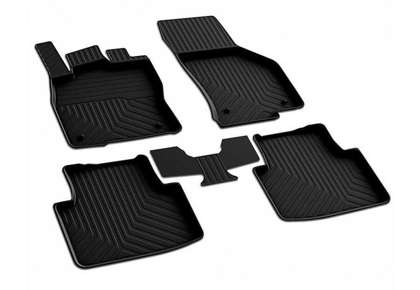 4D Paspas - VW Passat B8 4D Havuzlu Paspas Siyah 2015 ve Sonrası