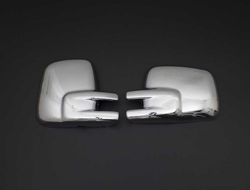 Krom Aksesuar » Omsa - VW T4 Caravelle Krom Ayna Kapağı 2 Parça ABS 1995-2003 Arası