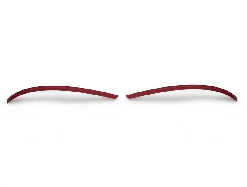 Krom Aksesuar » Omsa - VW T5 Multivan Kırmızı Krom Ayna Çıtası 2 Parça 2010 ve Sonrası