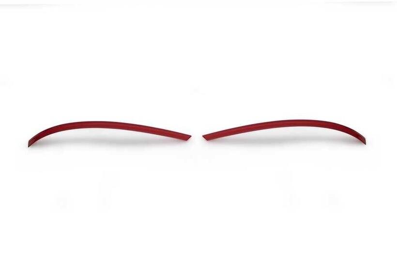 Krom Aksesuar » Omsa - VW T6.1 Caravelle Kırmızı Krom Ayna Çıtası 2 Parça 2020 ve Sonrası
