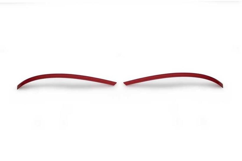 Krom Aksesuar » Omsa - VW T6.1 Transporter Kırmızı Krom Ayna Çıtası 2 Parça 2020 ve Sonrası